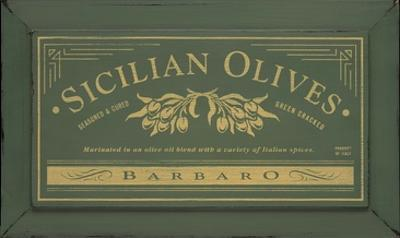 Sicilian Olives by Angela Staehling
