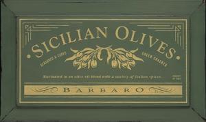 Sicilian Olives by Angela Staehling