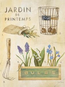 Spring Garden Poster by Angela Staehling