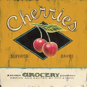 Superior Cherries by Angela Staehling
