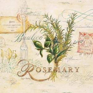 Tuscan Herbs by Angela Staehling