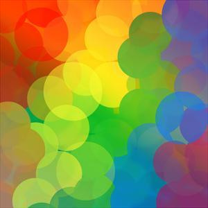 Rainbow Dots by Angela_Waye