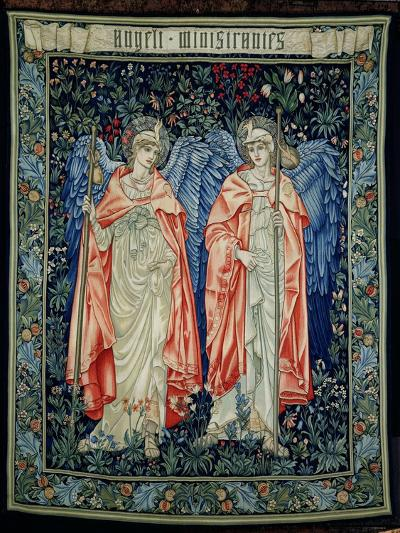 Angeli Ministrantes, 1894 (Tapestry)-Edward Burne-Jones-Giclee Print