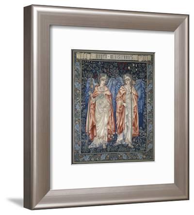 Angeli Ministrantes, 1894-John Henry Dearle-Framed Art Print