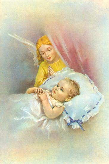 Angelic Slumber II-The Victorian Collection-Giclee Print