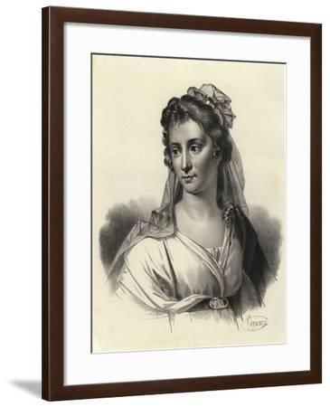 Angelica Kauffman, Swiss-Austrian Artist--Framed Giclee Print