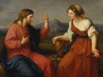 Christ and the Samaritan Woman at the Well, 1796 by Angelica Kauffmann