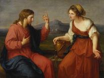 Christ and the Samaritan Woman at the Well, 1796-Angelica Kauffmann-Giclee Print