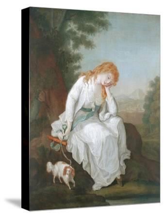Possibly Maria of Moulines from Sterne's 'Sentimental Journey', 1766-81