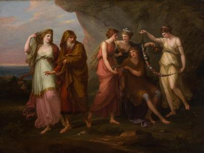 Telemachus and the Nymphs of Calypso, 1782
