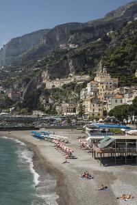 Amalfi Peninsula, Amalfi Coast, UNESCO World Heritage Site, Campania, Italy, Mediterranean, Europe by Angelo Cavalli