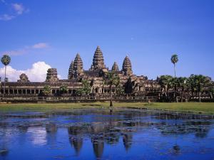 Angkor Wat Temple, Angkor, Cambodia by Angelo Cavalli