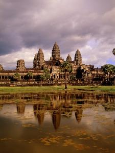 Angkor Wat temple, Cambodia, Asia by Angelo Cavalli