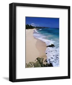 Beach at Sam Lords Castle, East Coast by Angelo Cavalli