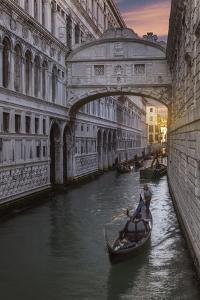 Bridge of Sighs, Venice, UNESCO World Heritage Site, Veneto, Italy, Europe by Angelo Cavalli