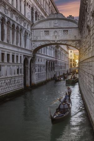 Bridge of Sighs, Venice, UNESCO World Heritage Site, Veneto, Italy, Europe