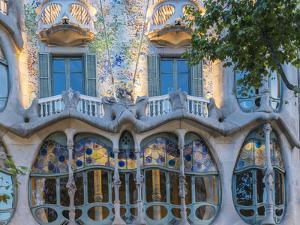 Casa Batllo, UNESCO World Heritage Site, Barcelona, Catalonia, Spain, Europe by Angelo Cavalli
