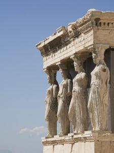Erechtheion Temple, Acropolis, UNESCO World Heritage Site, Athens, Greece, Europe by Angelo Cavalli