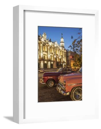 Havana at Night, Cuba, West Indies, Caribbean, Central America