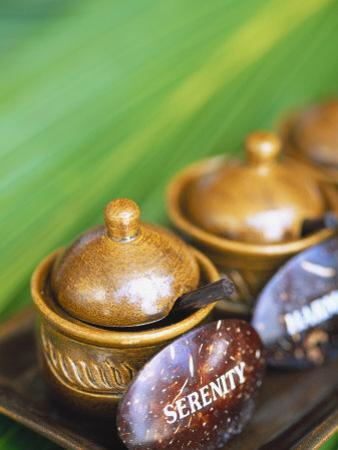 Herbal Oil Used for Oriental Massage