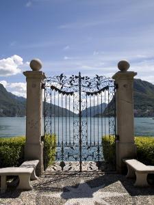 Lugano, Lake Lugano, Tessin Canton, Switzerland, Europe by Angelo Cavalli