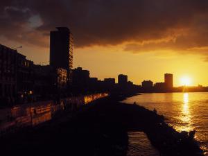 Malecon, Havana, Cuba by Angelo Cavalli