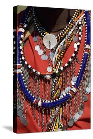 Masai Warrior, Masai Mara National Reserve, Kenya, East Africa, Africa