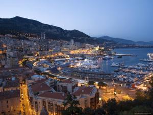 Monaco, Cote d'Azur, Mediterranean by Angelo Cavalli