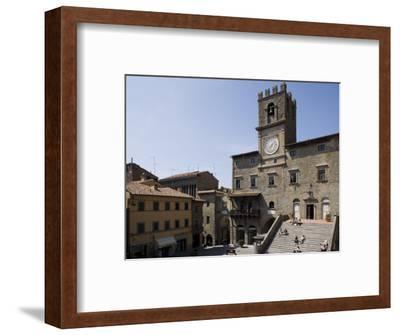Municipal House of Cortona, Tuscany, Italy