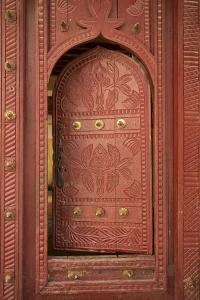 Old Traditional Door, Wadi Bani Khalid, Oman, Middle East by Angelo Cavalli