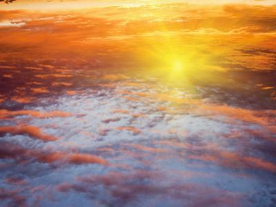 Red Sky at Sunrise, Florida, United States of America, North America