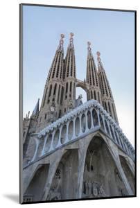The Sagrada Familia, UNESCO World Heritage Site, Barcelona, Catalonia, Spain, Europe by Angelo Cavalli
