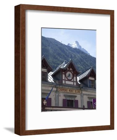 The Train Station, Chamonix, Haute Savoie, French Alps, France, Europe