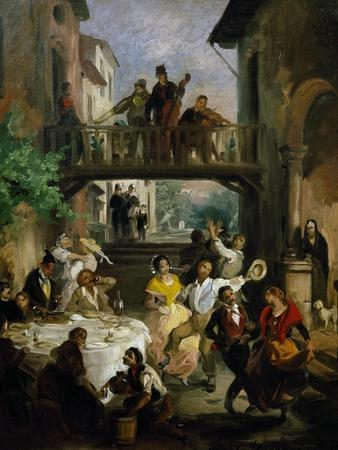 Peasants Dancing at Wedding Party