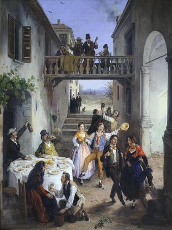 Wedding in Brianza, 1873