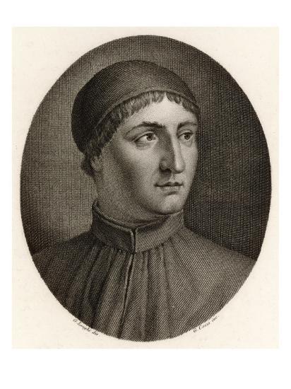 Angelo Poliziano Italian Scholar and Writer--Giclee Print