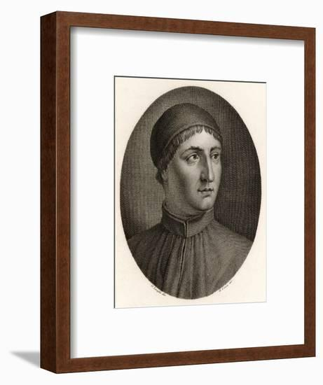 Angelo Poliziano Italian Scholar and Writer--Framed Giclee Print