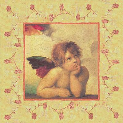 Angels and Cupids III--Art Print