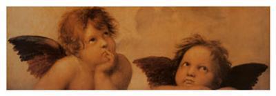 Angels (detail)-Raphael-Art Print