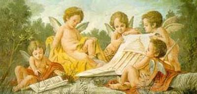 Angels Drawing-Francesco Bartolozzi-Art Print