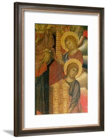 Angels from the Santa Trinita Altarpiece-Cimabue-Framed Giclee Print
