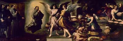 Angels' Kitchen, 1646, Spanish School-Bartolome Esteban Murillo-Giclee Print