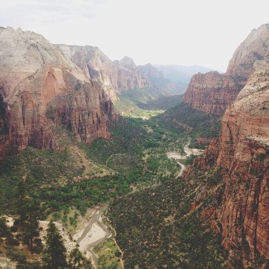 Angels Landing View-Kevin Russ-Photographic Print