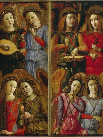 Angels Making Music-Florentinisch-Giclee Print