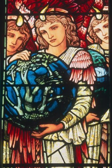 Angels of Creation: the Third Day, C.1890-Edward Burne-Jones-Giclee Print