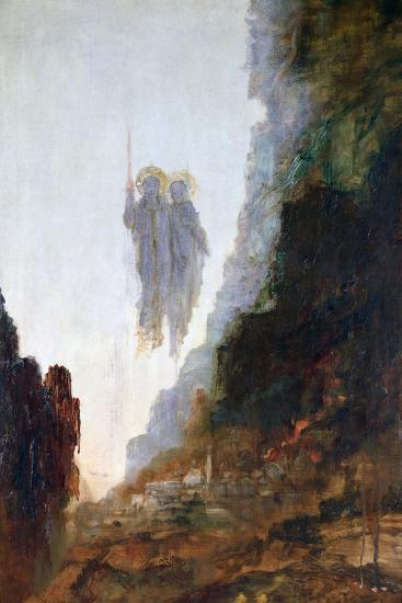 Angels of Sodom, C1846-1898-Gustave Moreau-Giclee Print