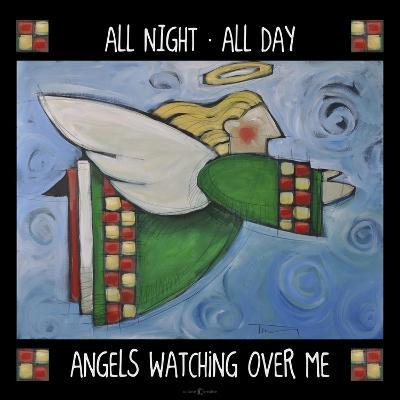 Angels Watching Poster-Tim Nyberg-Giclee Print