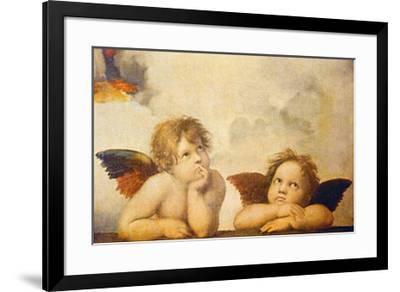 Angels-Raphael-Framed Art Print