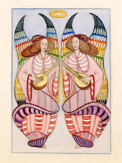 Angels-Gillian Lawson-Giclee Print