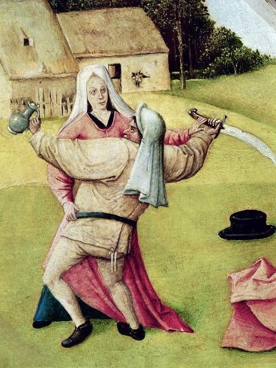 "Anger, Detail from ""The Table of the Seven Deadly Sins and the Four Last Things"", circa 1480-Hieronymus Bosch-Giclee Print"